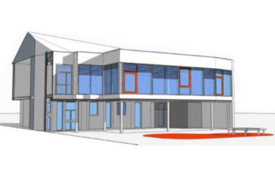 Réhabilitation de bâtiments pour création d'un restaurant scolaire et extension de l'école J.J. Rousseau