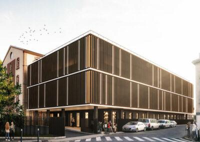 Extension et réhabilitation de locaux existants sur le site de l'Institut Universitaire CHAMPOLLION à Albi