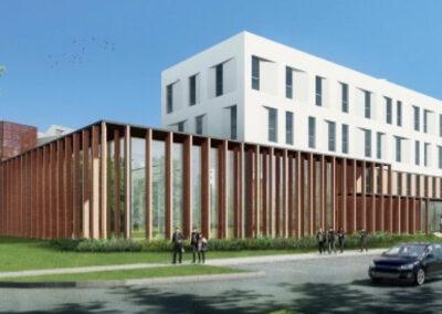 Construction de l'extension de l'Hôtel d'entreprises Albi-Innoprod